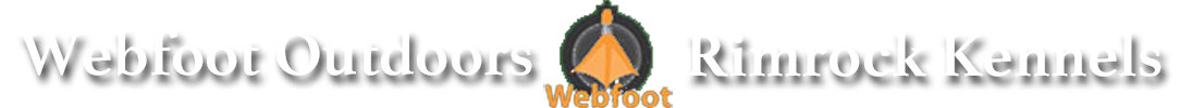 Webfoot Outdoors Banner